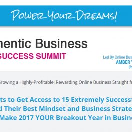Authentic Online Entrepreneurs Summit 2017