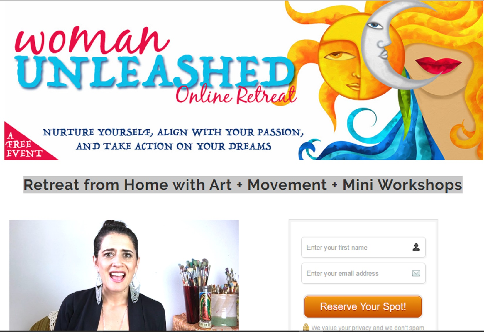 Woman Unleashed Retreat | e-Virtual Summits | Find All Your