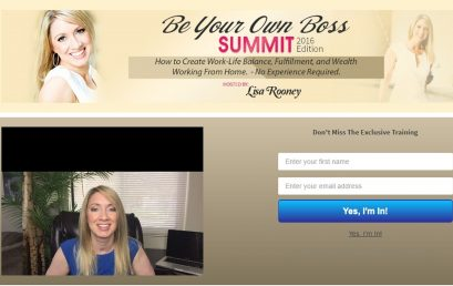 Be My Own Boss