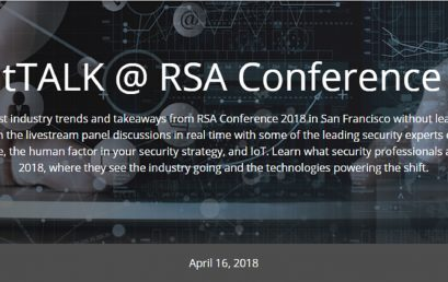 BrightTALK @ RSA Conference 2018