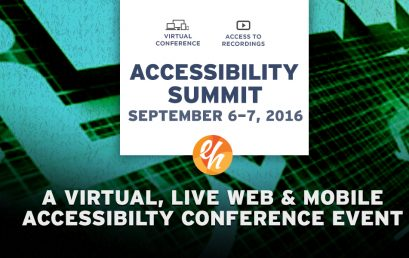 The VIRTUAL ONLINE, LIVE ACCESSIBILITY  EVENT