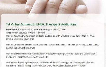 1st Virtual Summit of EMDR Therapy & Addictions