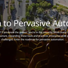 The Path to Pervasive Automation